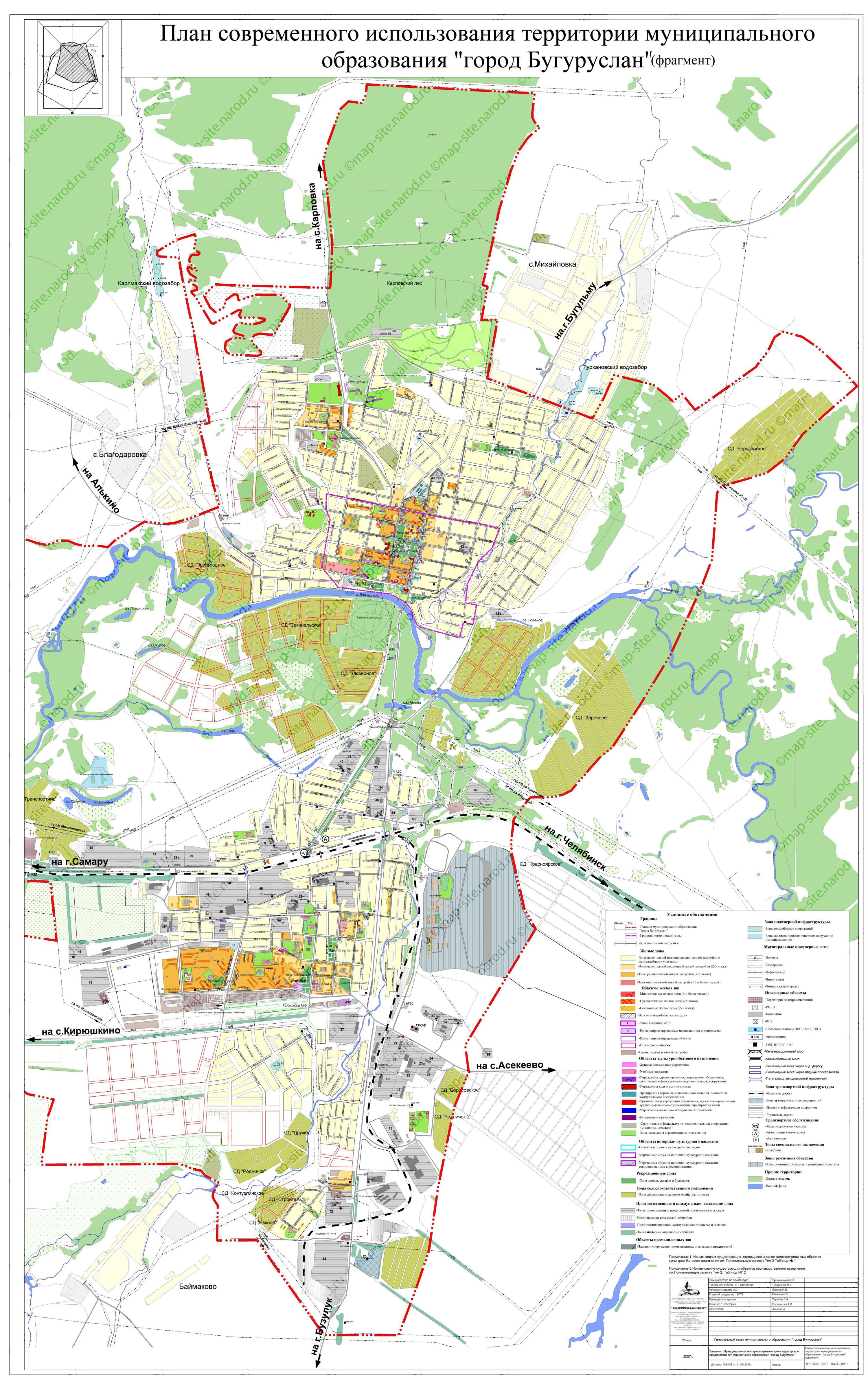 Бугуруслан - Самара расстояние между городами на