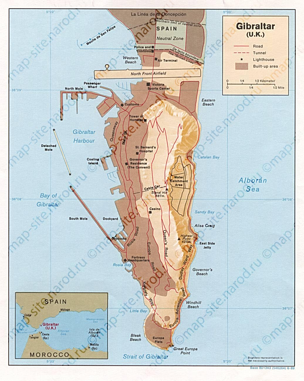 Во время Войны за Испанское наследство 1 августа 1704 года англичане (с помощью голландцев, кастати) атаковали Гибралтар.