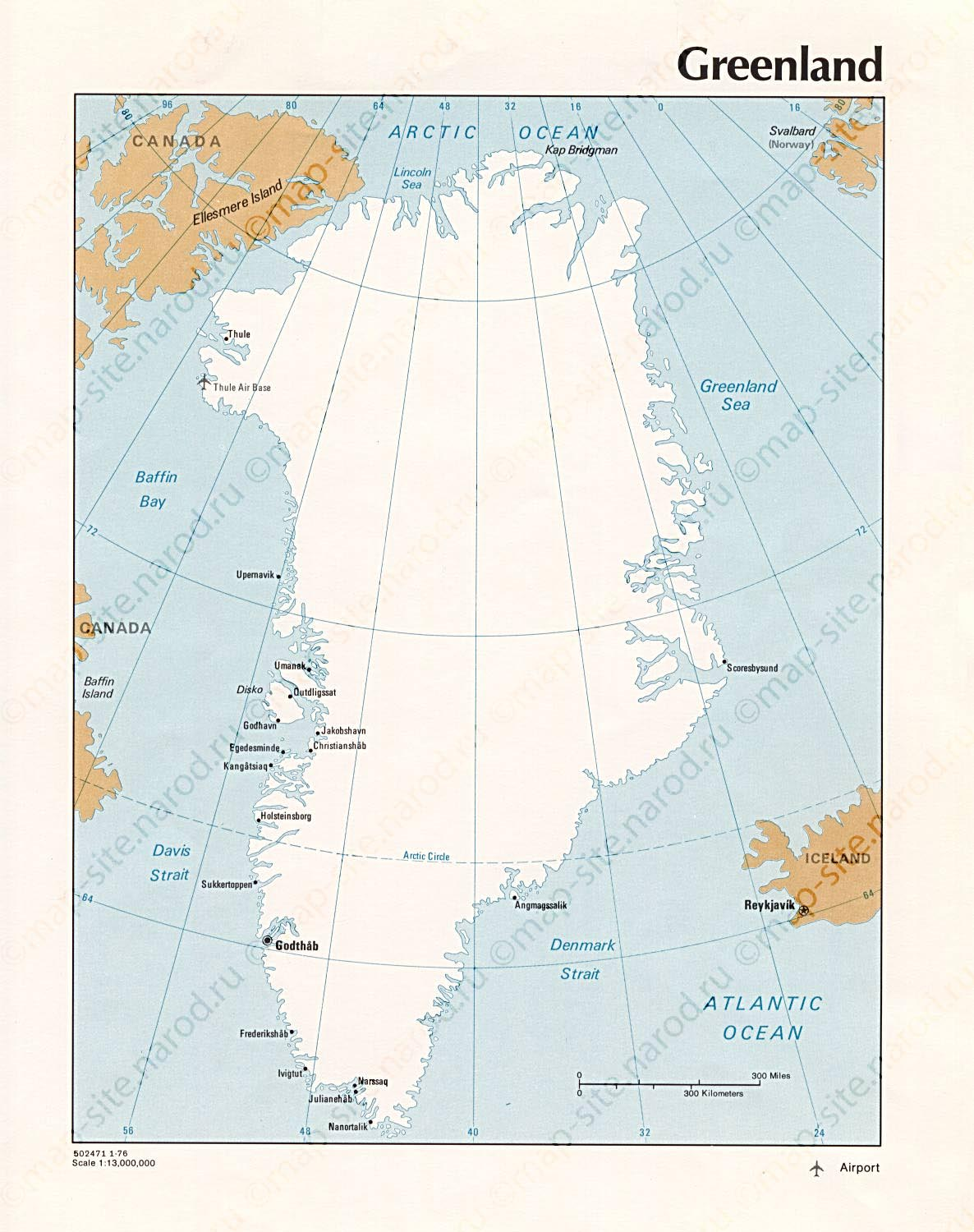 the geography and history of greenland