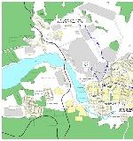 Карта краснотурьинска